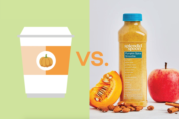 Pumpkin Spice Smoothie VS. PSL: Which is Really Better?