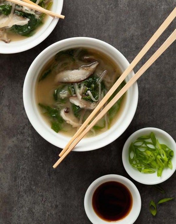 Warm Your Winter Days With This White Miso Soup