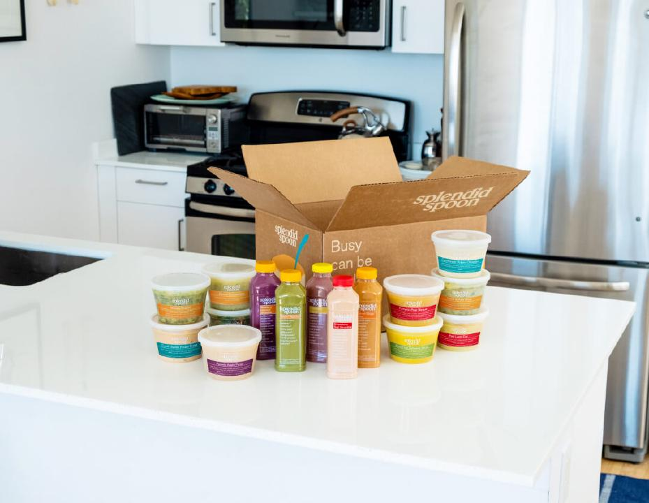 Splendid Spoon's Stock Up Box with Smoothies, Soups and Bowls