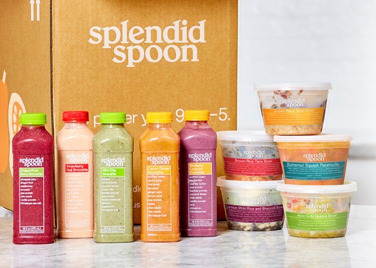 Splendid spoon offers a wide variety of healthy meals, from breakfast to lunch and dinner.