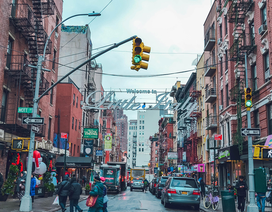 Little Italy in New York City