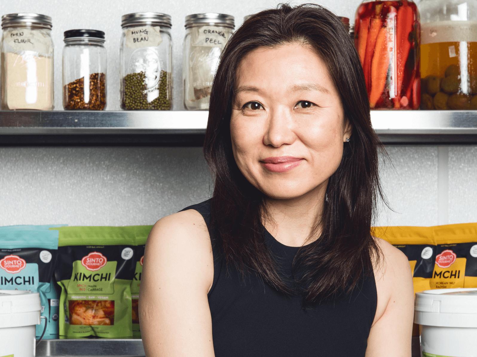 Sinto Kimchi founder, Chef HyunJoo